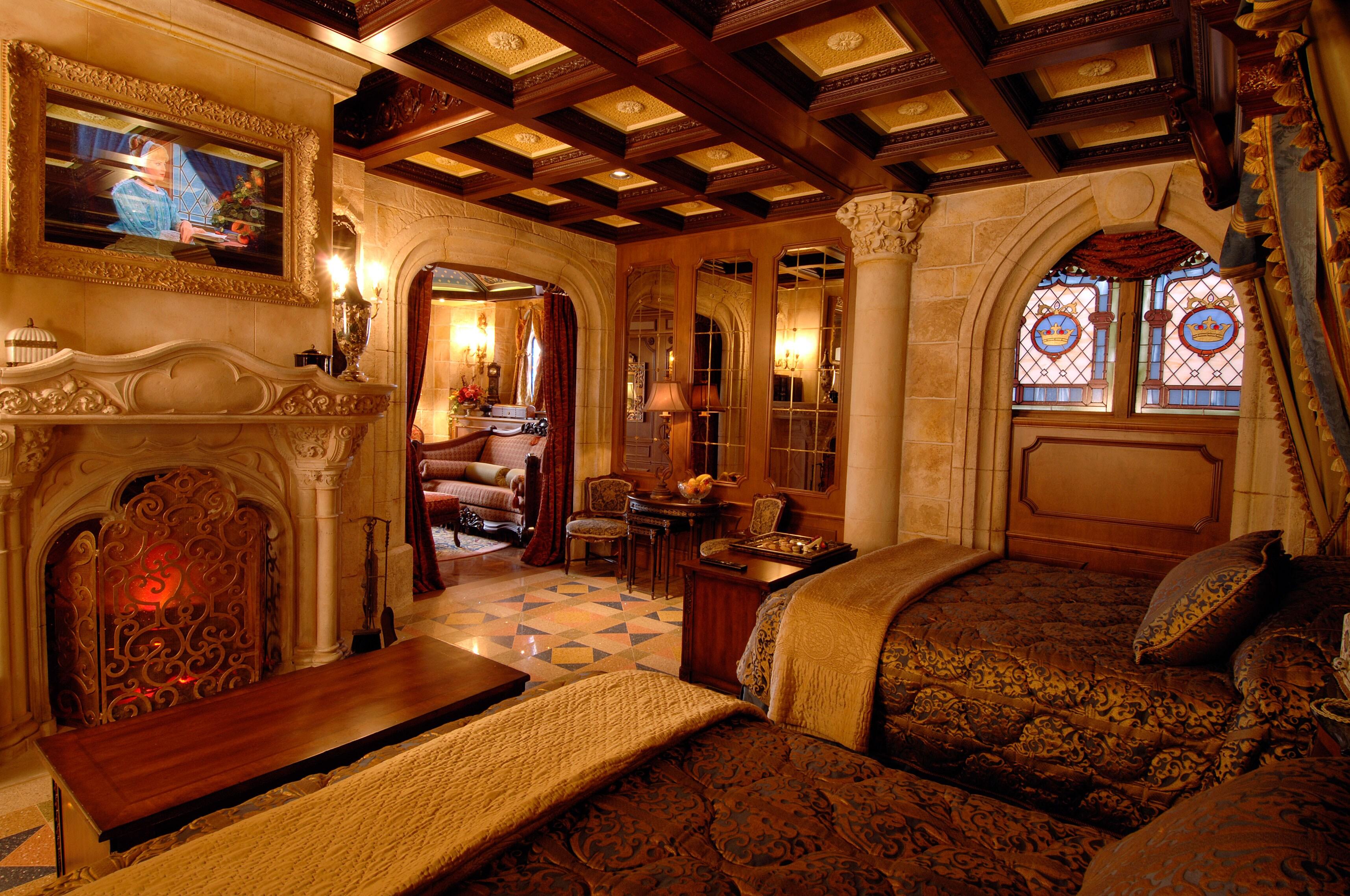 Disney mostra suíte do Castelo da Cinderela