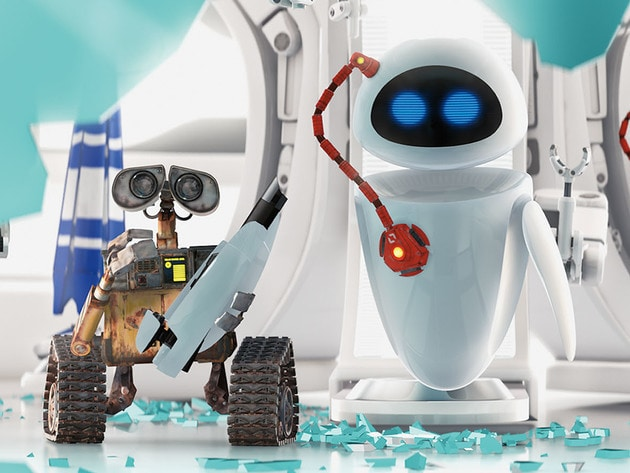 WALL•E and EVE make a great team, most of the time.