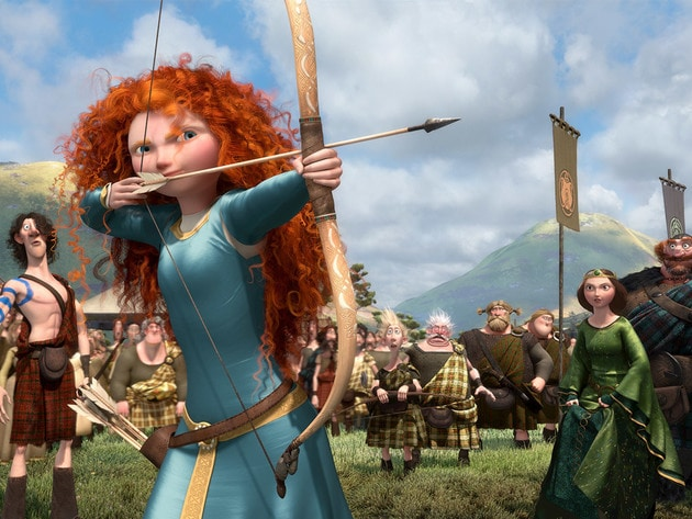 """I am Merida. And I'll be shooting for my own hand!"""