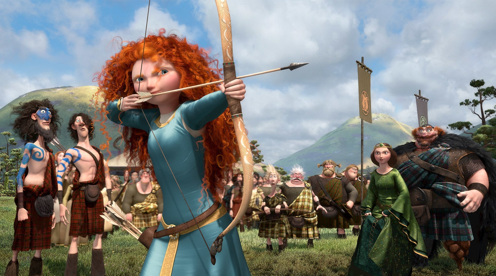 """""""I am Merida. And I'll be shooting for my own hand!"""""""