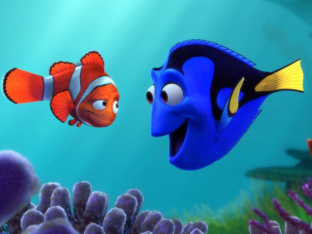 """When life gets you down, do you wanna know what you've gotta do? Just keep swimming!"""