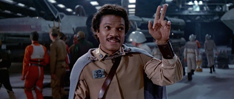 Lando Calrissian before the Battle of Endor