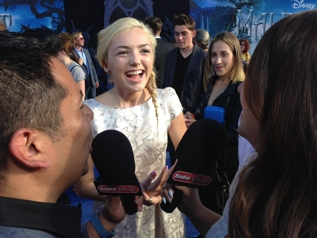 Peyton List at Muppets Most Wanted