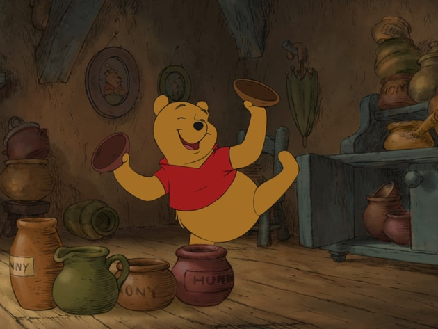 """Willy, nilly, silly, old Bear!"""