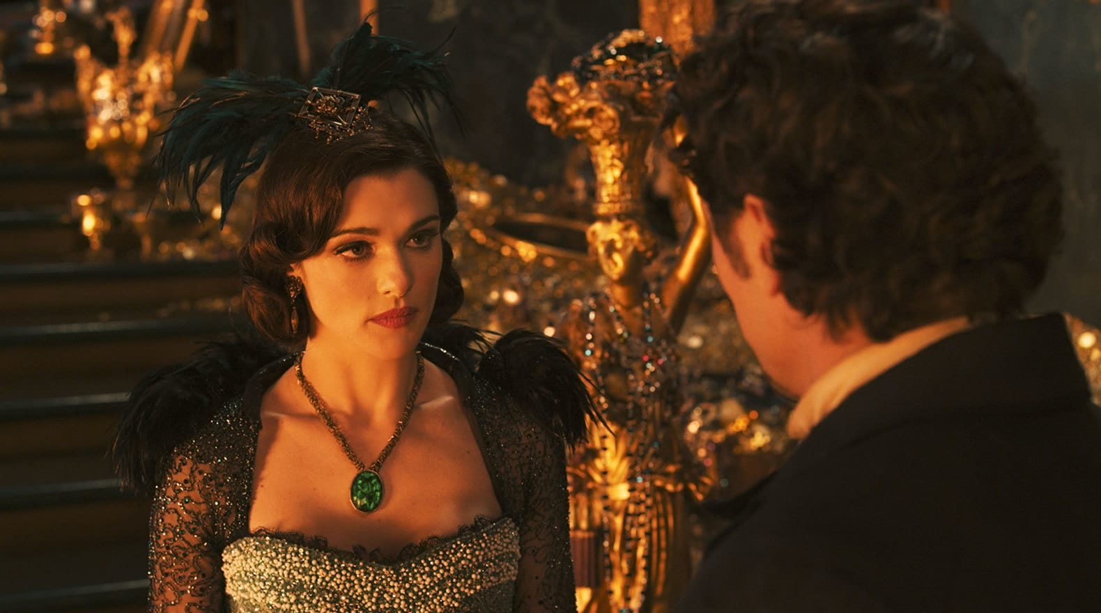 """Rachel Weisz and James Franco in """"Oz The Great and Powerful"""""""