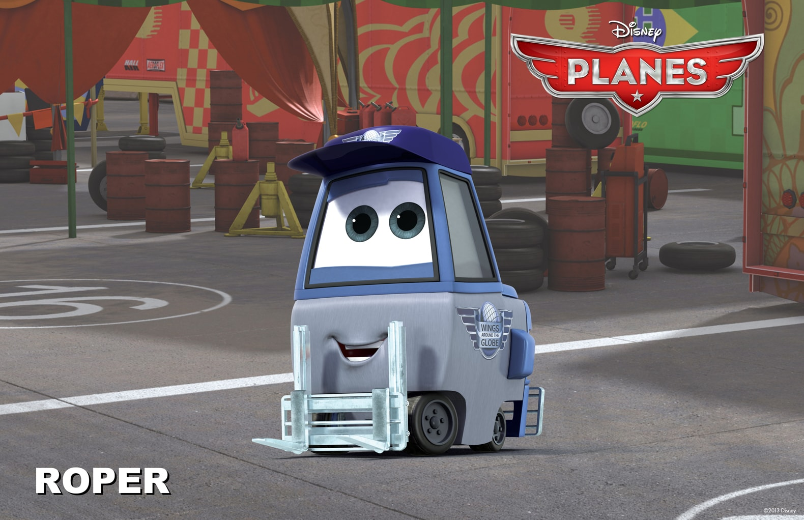 """Roper from the movie """"Planes"""""""