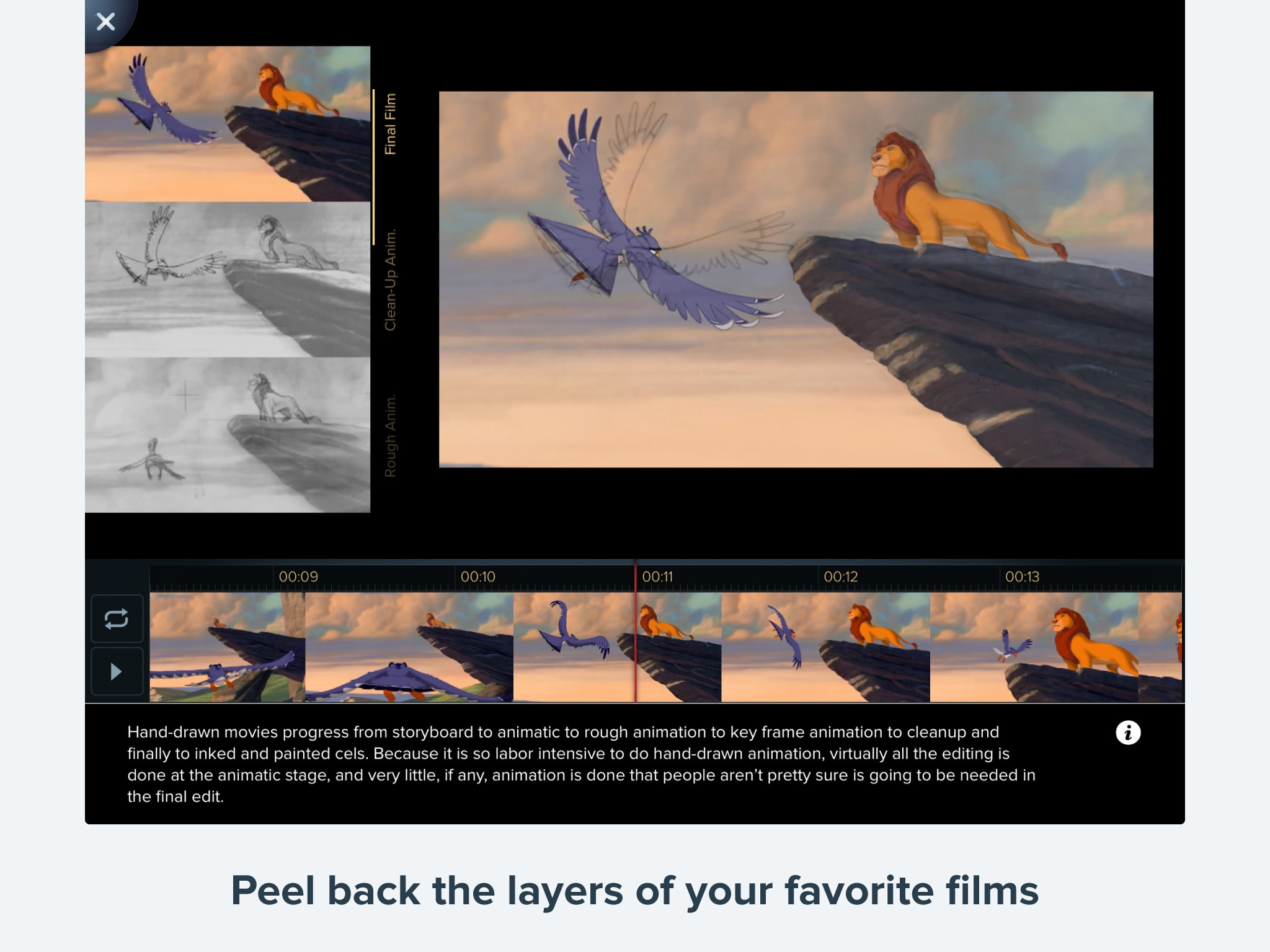 Disney Animated Gallery Disney LOL - How your favourite animated movies are put together and edited