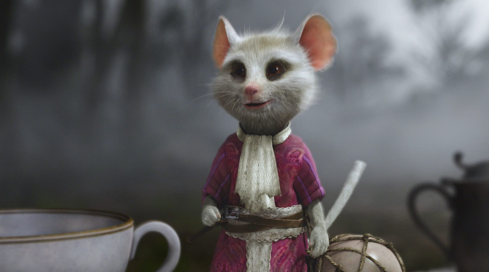 The Dormouse Greets Alice