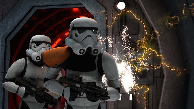 "Stormtroopers as depicted in ""Star Wars Rebels"""