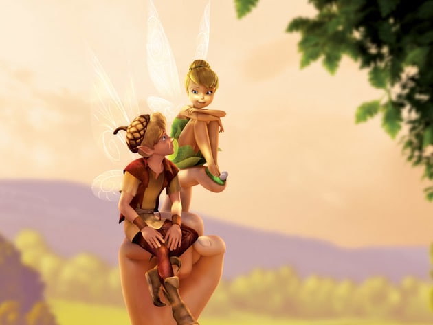 Tink and Terence enjoy good company together.