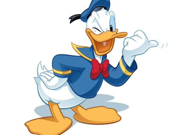 Donald is best known as the short-tempered and angry duck in Disney's Mickey Mouse cartoons. The ...