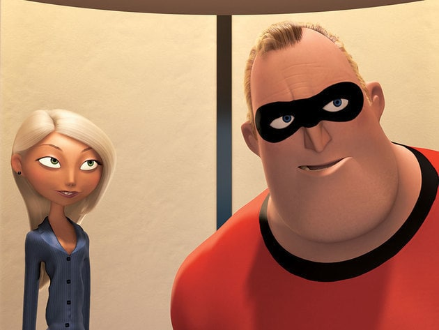 Mr. Incredible is ready for his next assignment.