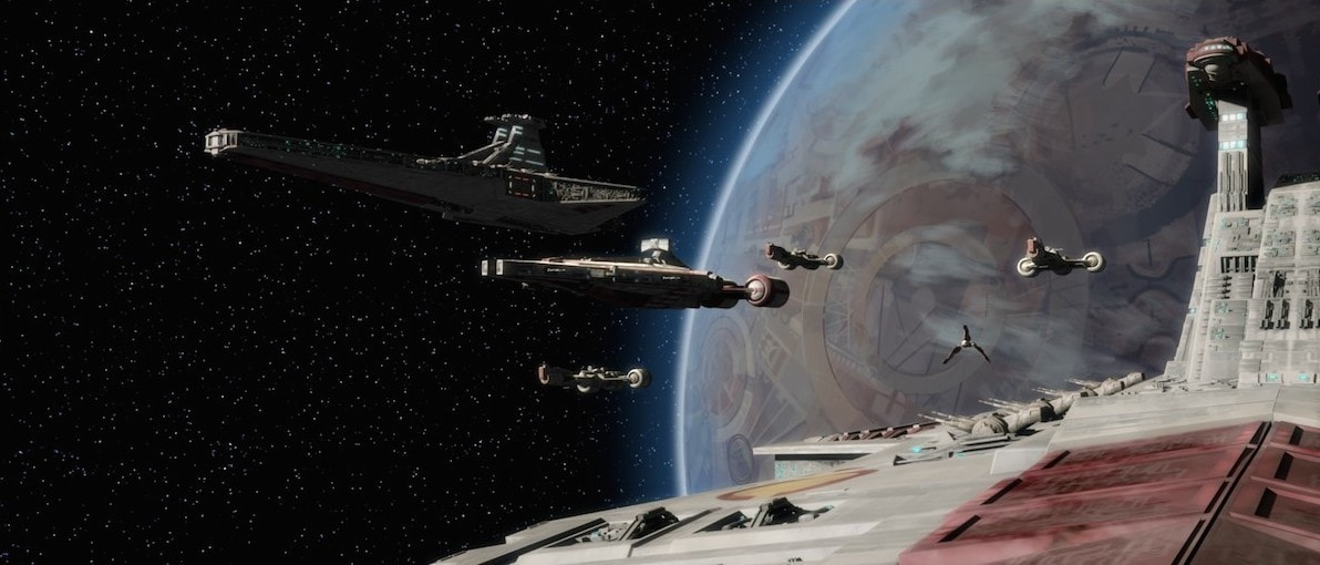 Venator-class Star Destroyers during The Clone Wars