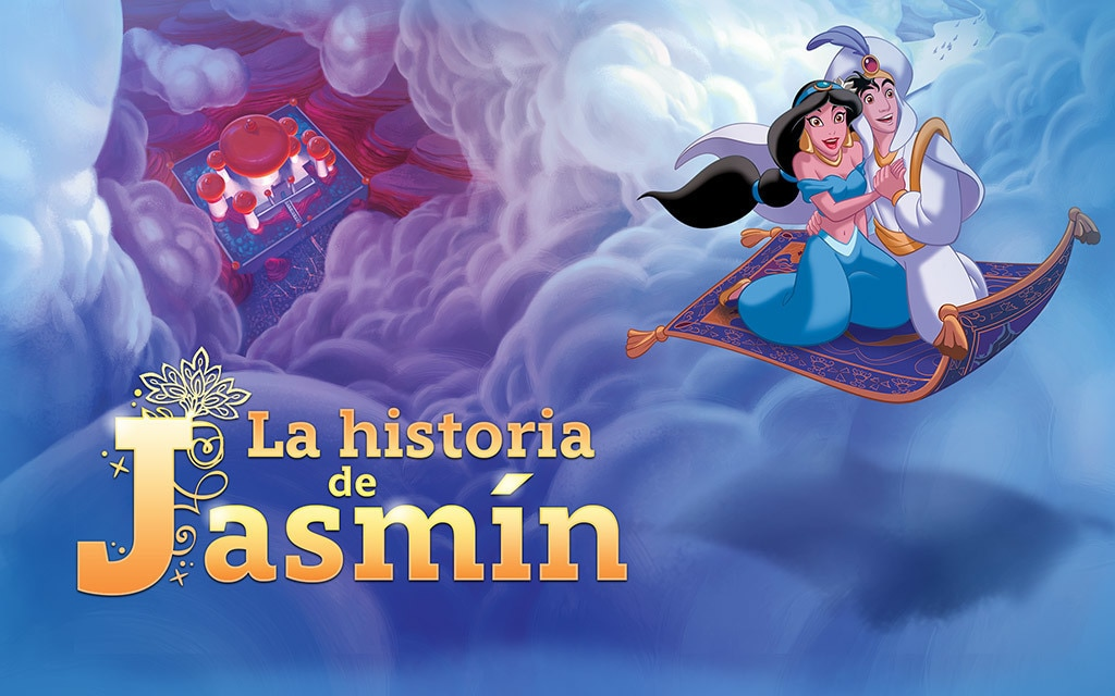 Cuentos De Princesas La Historia De Jasmín Disney Ajá