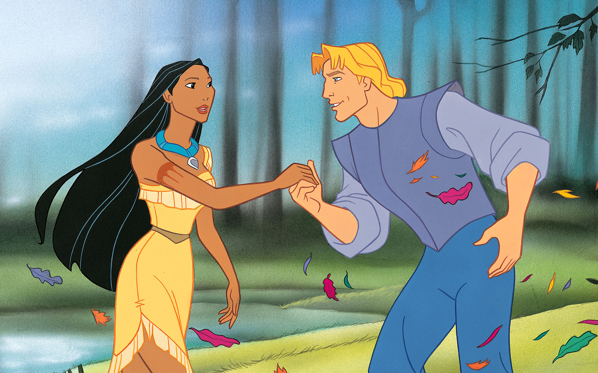 an analysis of the issues in the movie pocahontas