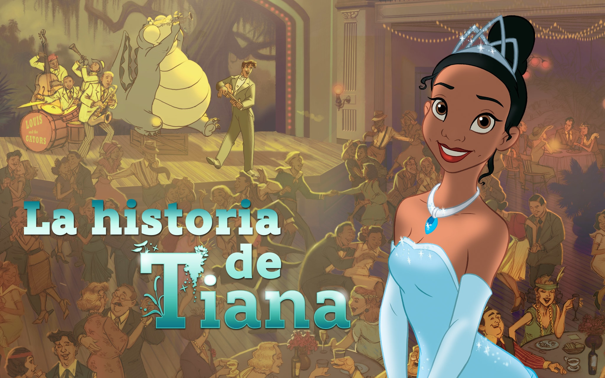 Cuentos de Princesas  La historia de Tiana  Disney Aj