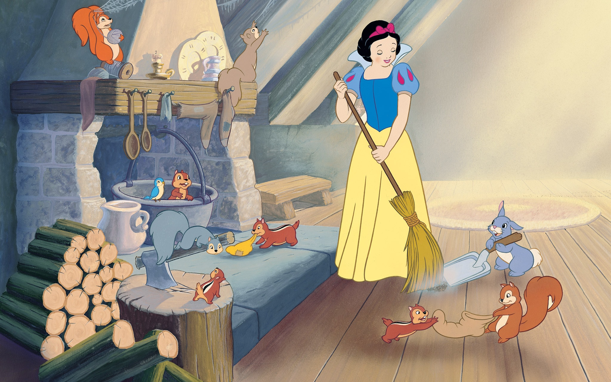 Cuentos De Princesas La Historia De Blanca Nieves Disney Ajá