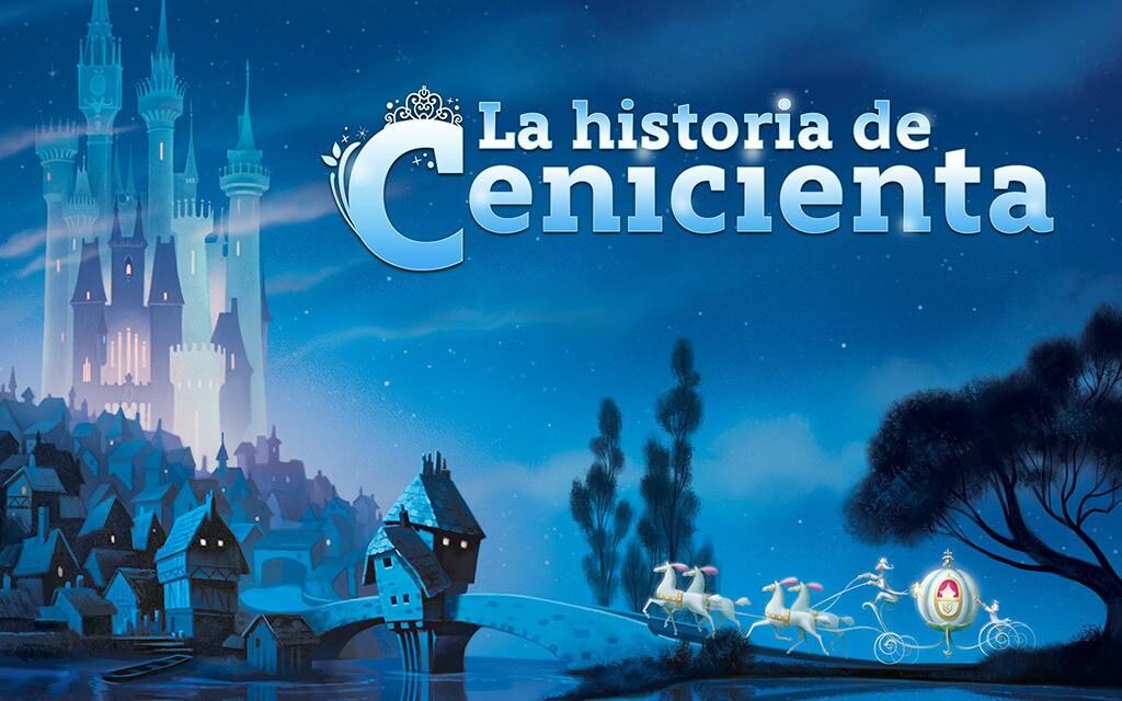 Cuentos de Princesas  La historia de Cenicienta  Disney Aj