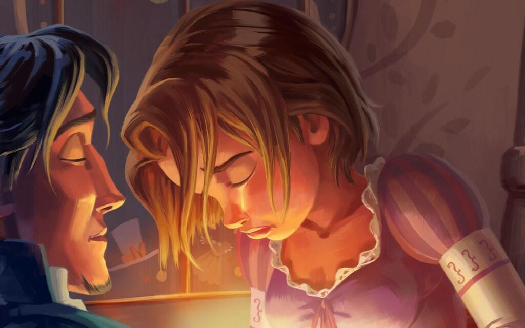 Rapunzels story disney princess fandeluxe Gallery