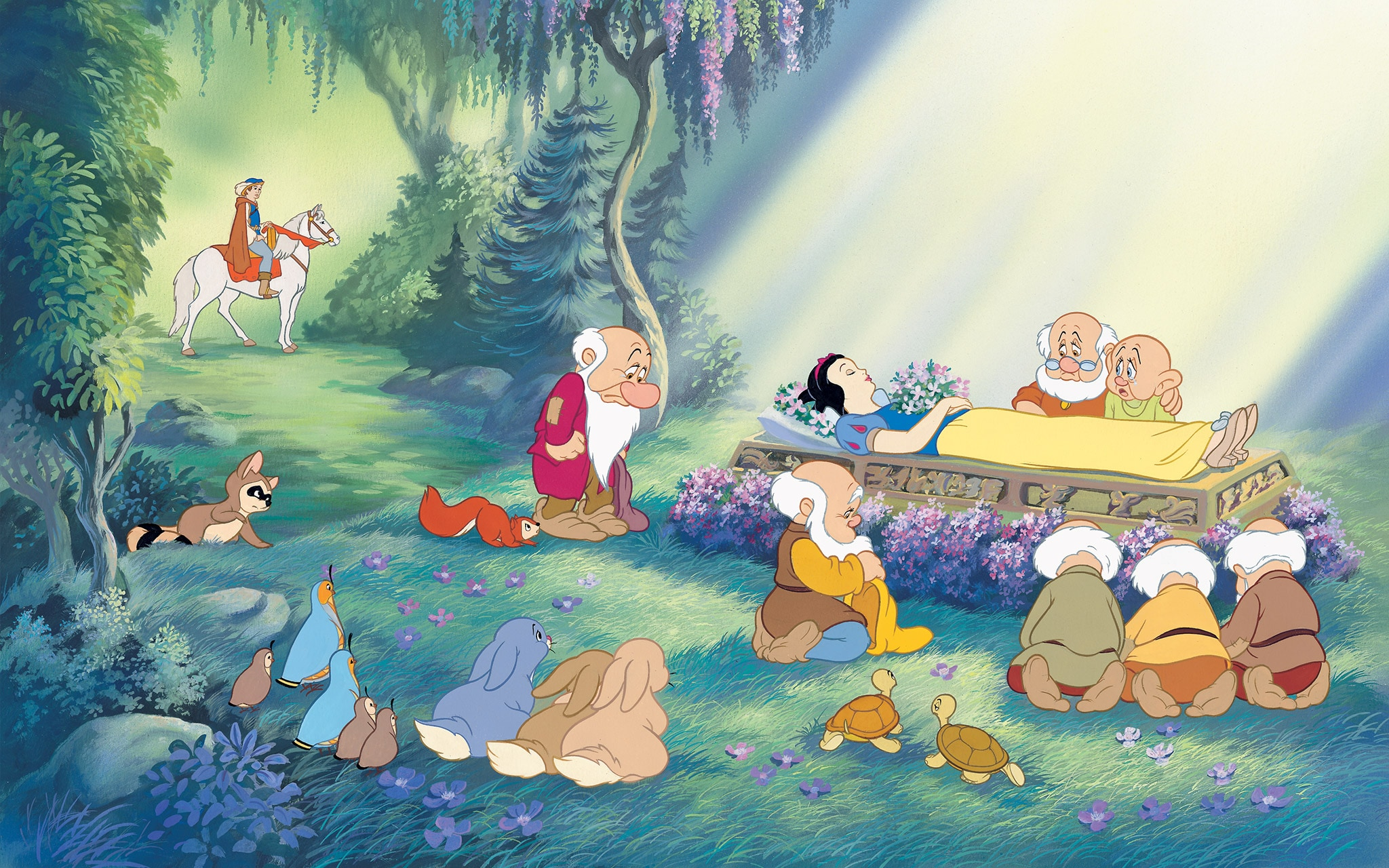 snow white and the seven dwarfs - HD 2048×1280
