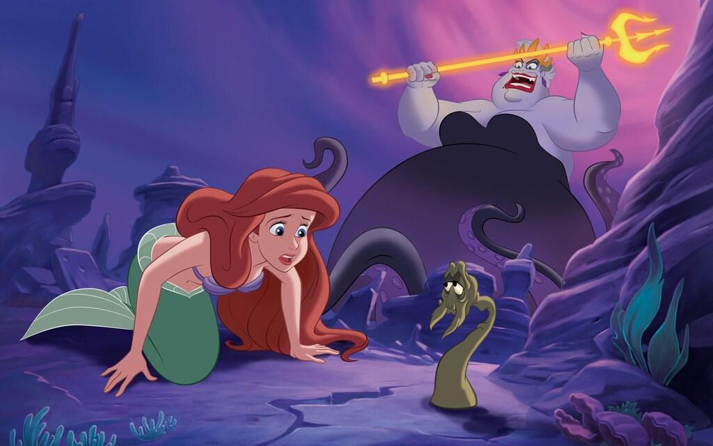 Terrific Reading With Ariel Little Mermaid Story Book Disney Princess Hairstyles For Women Draintrainus
