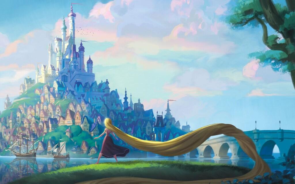 Rapunzel's Story | Disney Princess