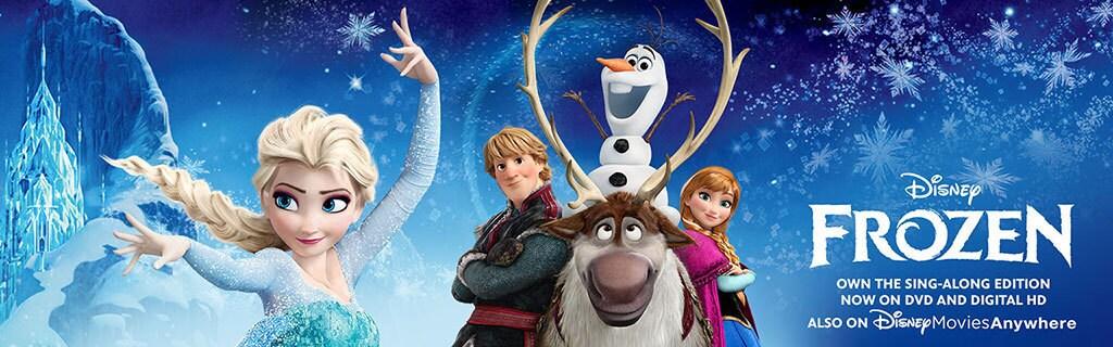 Frozen - Products Hero