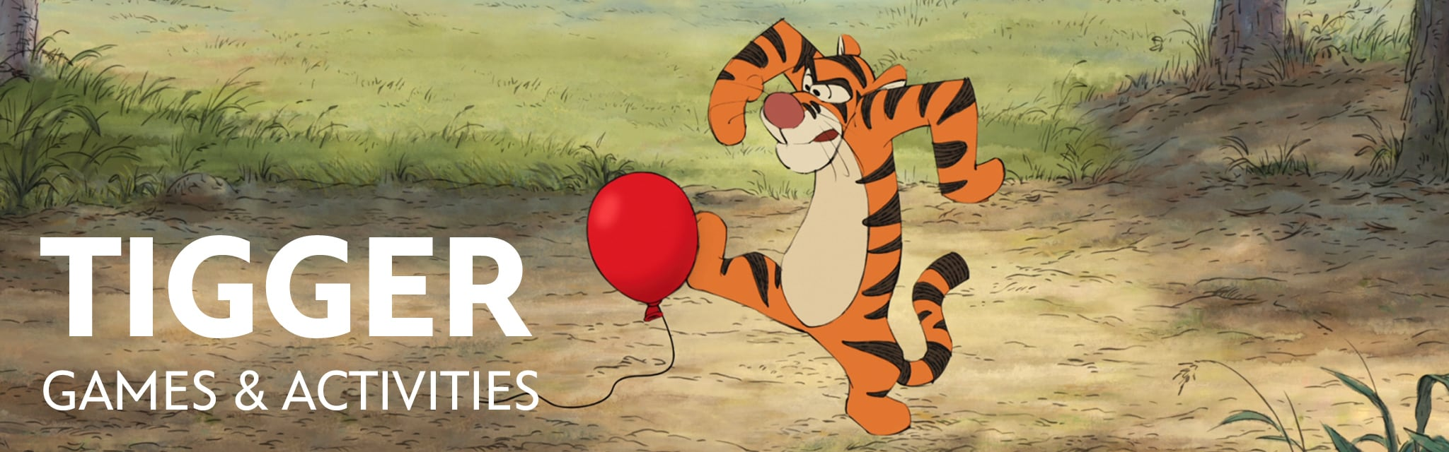 Tigger Games & Activities | Winnie the Pooh