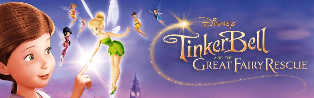 Tinker Bell and the Great Fairy Rescue - Movie Page Hero