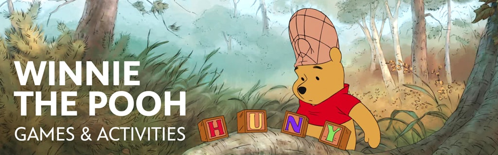 Winnie the Pooh - Games & Activities - Hero