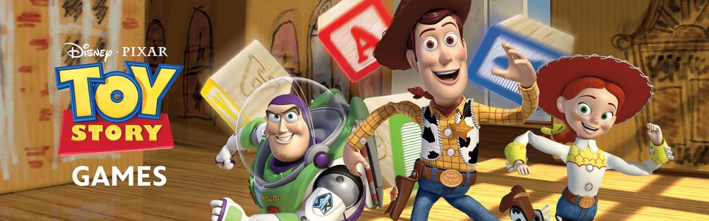 Toy Story Franchise Games Hero