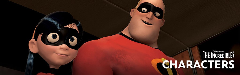 The Incredibles Characters Hero Object