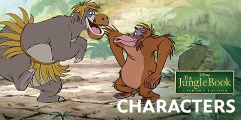 Characters | The Jungle Book (1967) | Disney Movies