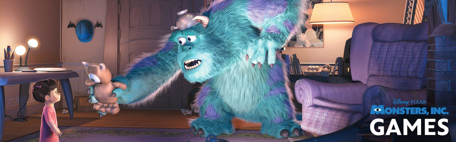 Monsters, Inc. Games Hero