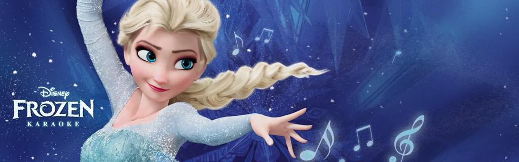 Frozen - Karaoke App - Hero