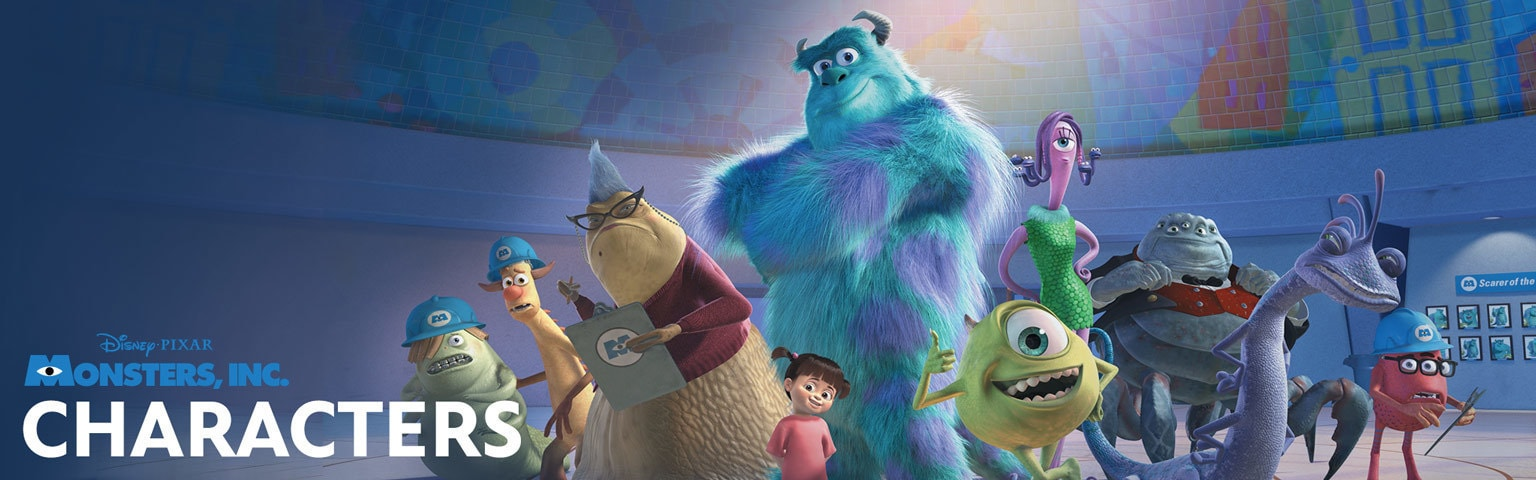 Monsters, Inc Characters Hero