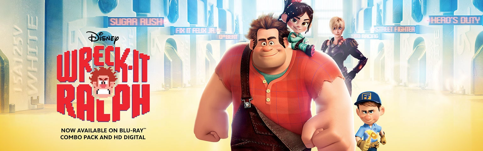 Wreck It Ralph-Homepage