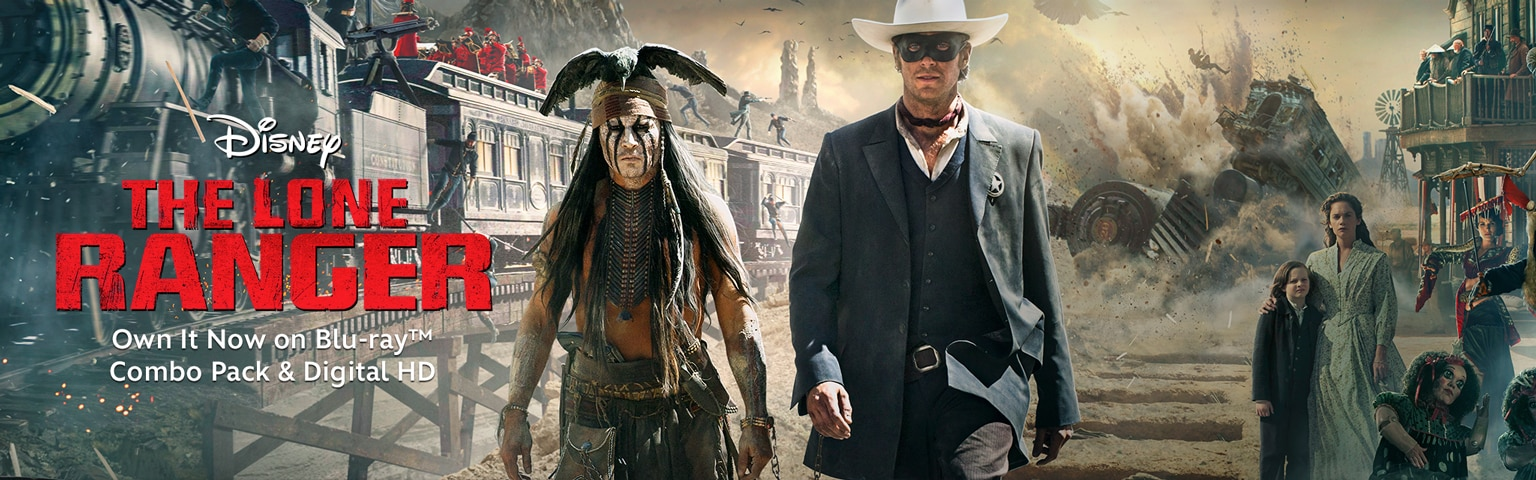 Lone Ranger-Movie Home