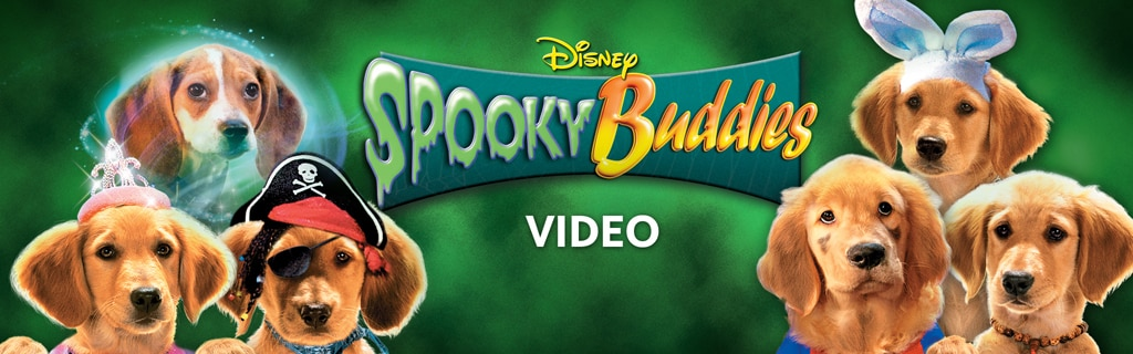 Spooky Buddies Video Hero