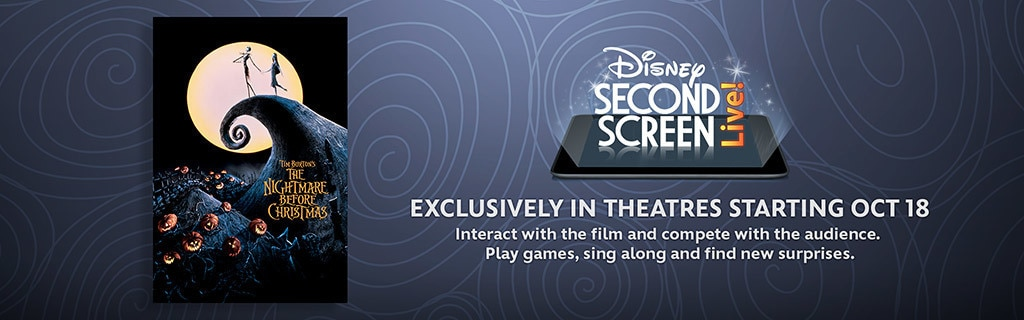 Nightmare Before Christmas - Second Screen