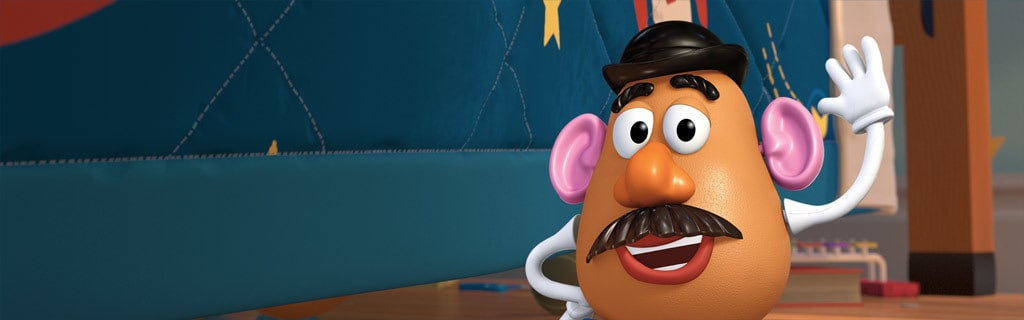 Toy Story 3 Day Care Dash : Mr potato head characters toy story