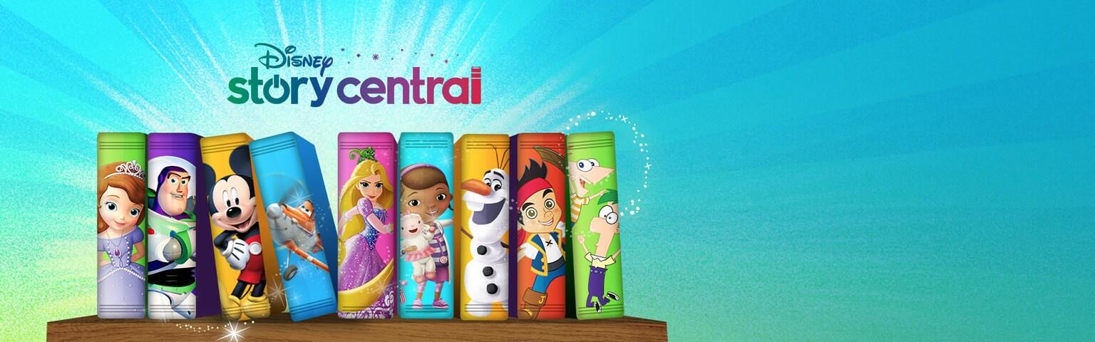 Disney Story Central - App page - Hero AU