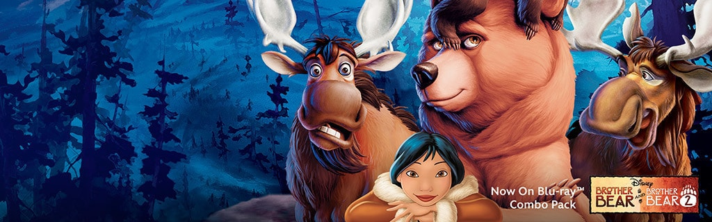 Brother Bear 2-Movie Collection - Key Art Universal Hero