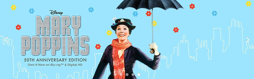 Mary Poppins 50th Anniversary Edition Buy Now