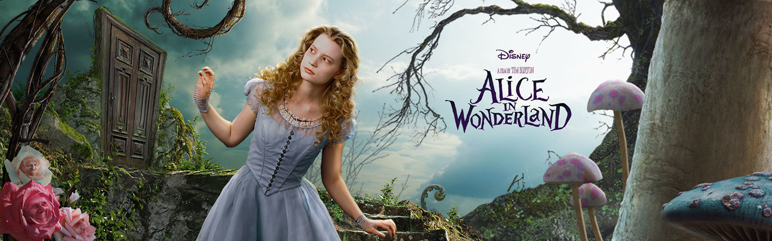Alice in Wonderland - Property Page Hero