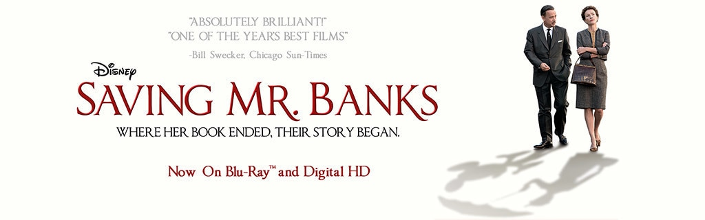 Saving Mr Banks - Homepage Hero