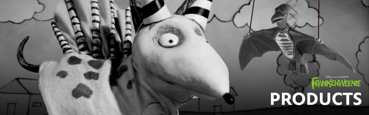 Frankenweenie - Products