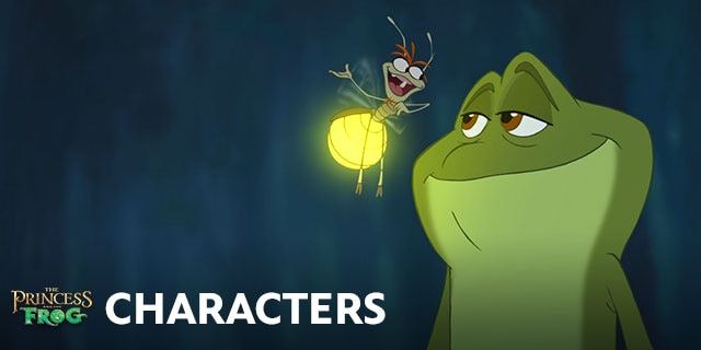The Princess And The Frog Characters Disney Movies