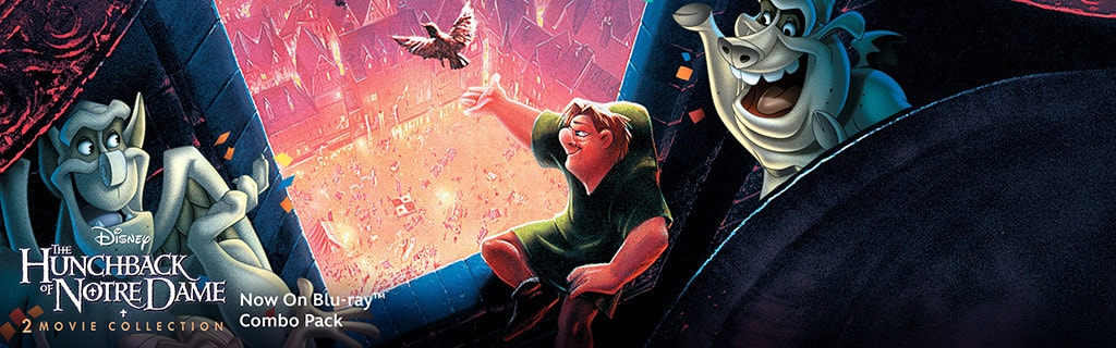 The Hunchback of Notre Dame 2-Movie Collection - Key Art Universal Hero