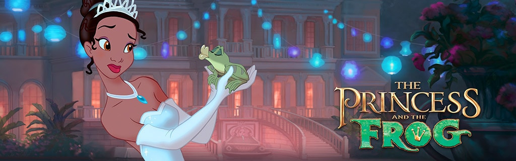 The Princess and the Frog Property Homepage Hero